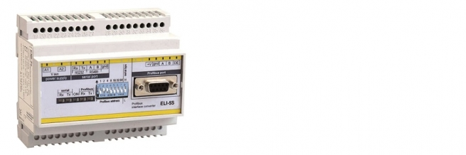 MULTIFUNCTION SERIAL INTERFACE MODBUS – RTU ↔ PROFIBUS-DP (ELI-5S)